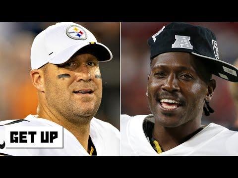 Video: Antonio Brown tells Ben Roethlisberger to 'shut up already' after friendship comments | Get Up