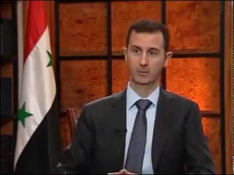 Bashar Assad - Bashar al-Assad latest interview on Ulusal Kanal, a Turkish television station. Full interview with English voice-over. 5th April 2013.