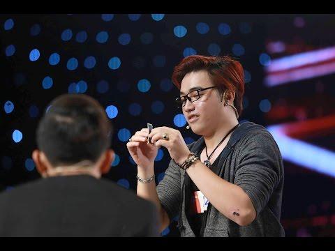 Ảo thuật cận canh Phúc Thịnh - Vietnam's Got Talent 2016 - BÁN KẾT 4