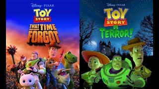 Toy Story That Time Forgot and Toy Story of Terror - Best Scenes