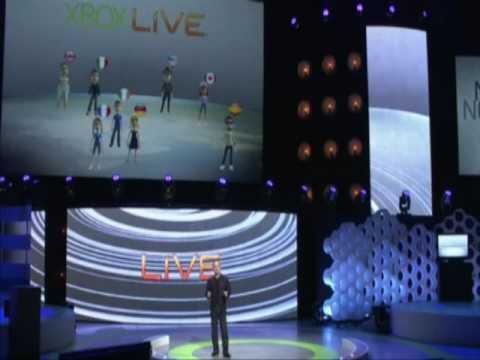 E3 - XBOX LIVE - NEW FEATURES (видео)