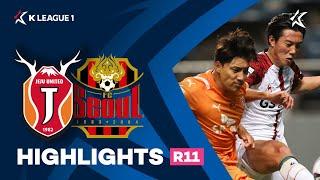 [하나원큐 K리그1] R11 제주 vs 서울 하이라이트 | Jeju vs Seoul Highlights (21.04.21)