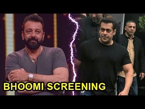Salman Khan NOT INVITED For Sanjay Dutt Bhoomi Scr