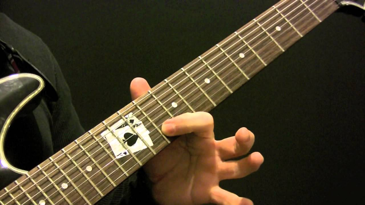 7 String Guitar Scales And Arpeggios Lesson