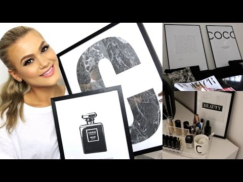 Home Decor Haul & Decoration Ideas | Feat. Desenio Posters (видео)