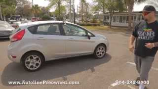 Autoline Preowned 2011 Ford Fiesta For Sale Used Walk Around Review Test Drive Jacksonville