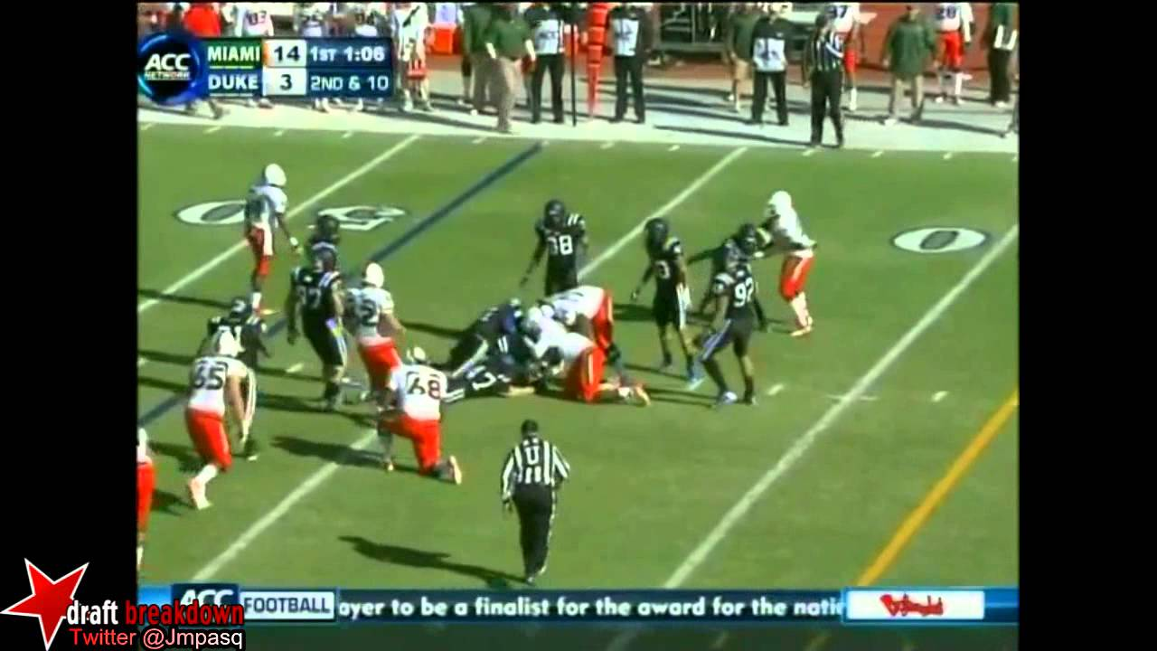 Clive Walford vs Duke (2012)
