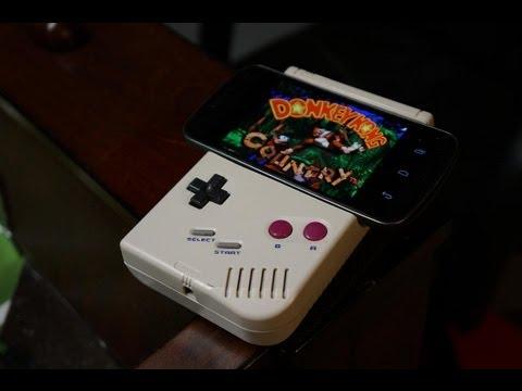 Game Boy mit einem Galaxy Nexus (Android) aufgerüstet
