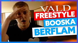 Video VALD I Freestyle Booska Berflam MP3, 3GP, MP4, WEBM, AVI, FLV November 2017