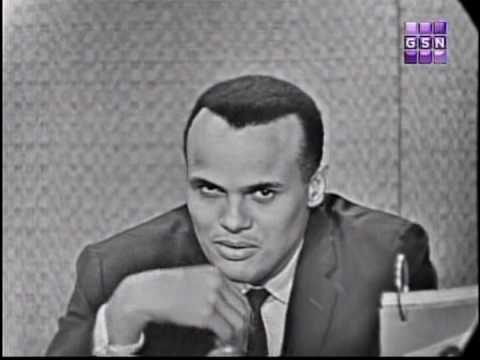 What&#39;s my line - Harry Belafonte