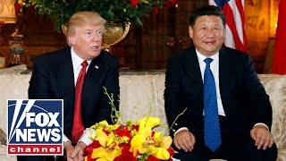 Trump meets with China's President Xi for high stakes trade talk