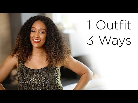 Tia Mowry's 1 Outfit 3 Ways for The Holidays | Quick Fix