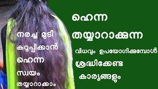 Video ഹെന്ന വീട്ടിൽ ഉണ്ടാക്കുന്ന/ ഉപയോഗിക്കുന്ന വിധം How to make Henna Hair Pack MP3, 3GP, MP4, WEBM, AVI, FLV April 2018