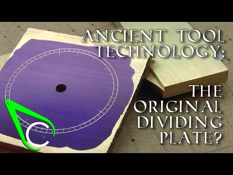 "Clickspring ""Antikythera Fragment #2 - Ancient Tool Technology - The Original Dividing Plate?"" [10:49]"