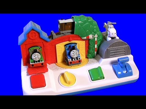 Thomas - Welcome to Blucollection ToyCollector. This is Thomas & Friends Musical Pop-up Pals. Peek-a-boo…its Thomas and his friends. When toddlers and infants press, spin, switch and pull the chunky,...