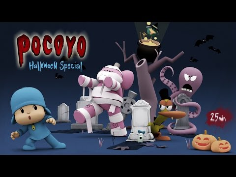 Pocoyo Halloween 2014: 25 minutes of spooky fun!