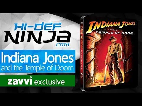 Indiana Jones and the Temple of Doom (1984) Zavvi Exclusive Steelbook Showcase