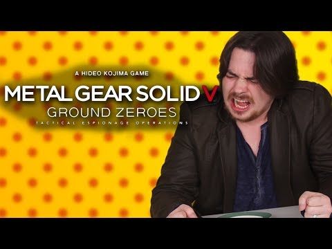 Egoraptor vs. GHOST PEPPER – Metal Gear Solid V: Ground Zeroes – Hot Pepper Game Review