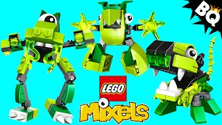 LEGO Mixels Green Glorp Corp Glomp Glurt Torts Collection Review