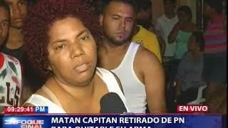 Matan capitán retirado de la Policía Nacional para quitarle su arma