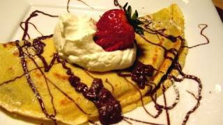 Nutella&Strawberry Filled Crepes Recipe Video - Laura Vitale