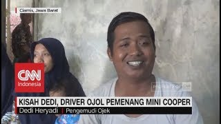 Video Kisah Dedi, Driver Ojol Pemenang Mini Cooper Seharga Rp12 Ribu MP3, 3GP, MP4, WEBM, AVI, FLV Desember 2018