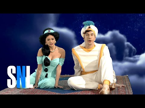 Aladdin And Jasmine  Whole New World  Flight In Real