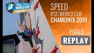 IFSC Climbing World Cup Chamonix 2019 - Speed Finals by International Federation of Sport Climbing
