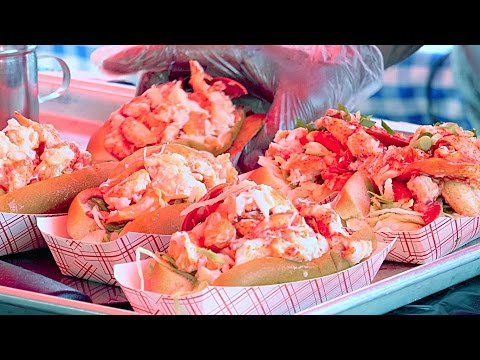 New York City Street Food - Lobster Roll