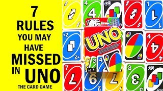 Video 7 Rules You May Have Missed In UNO The Card Game - How To Play Correctly MP3, 3GP, MP4, WEBM, AVI, FLV Mei 2019