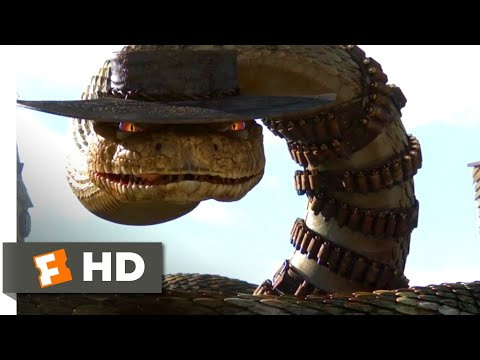 Rango (2011) - Jake The Rattlesnake Scene (8/10) | Movieclips