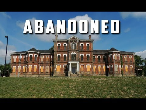 Exploring The Abandoned Insane Asylum Sam & Colby Couldnt get into Century Manor