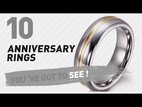 Anniversary Rings Top 10 Collection // UK New & Popular 2017