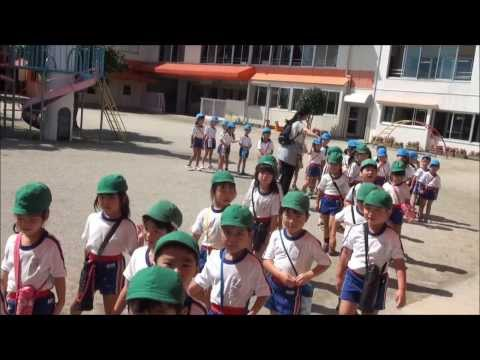 児童公園へ出発 笠間市 ともべ幼稚園 園長ブログ