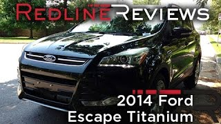 2014 Ford Escape Titanium Review, Walkaround, Exhaust&Test Drive