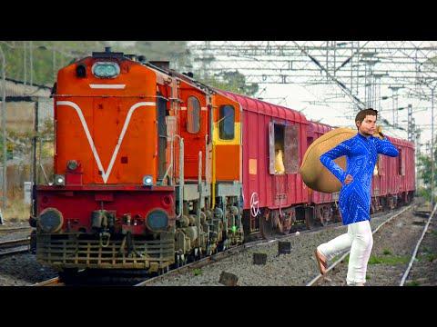 ट्रेन चोर Train Thief Funny Comedy हिंदी कहानी Hindi Comedy Kahaniya | Funny Hindi Comedy Videos