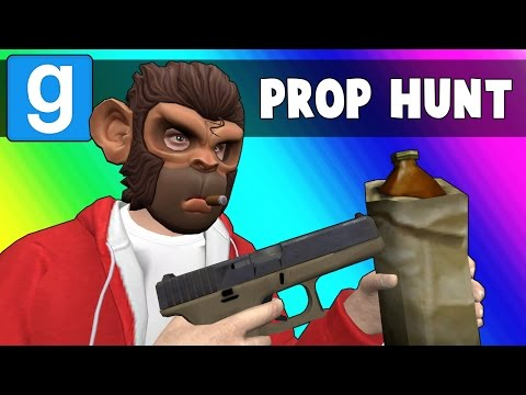 Gmod Prop Hunt Funny Moments - Drinking is Bad (Garry's Mod) (видео)