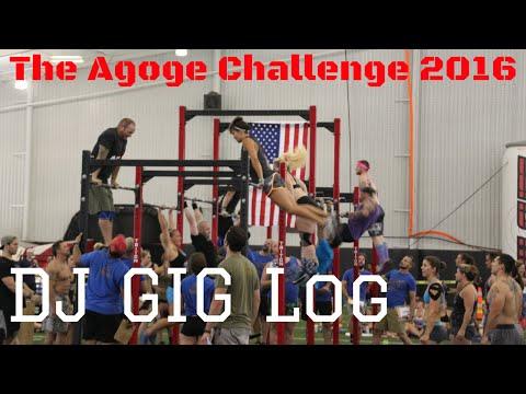 The Agoge Challenge 2016 | DJ Gig Vlog