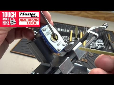 How To Pick A Master Lock With A Zip Tie
