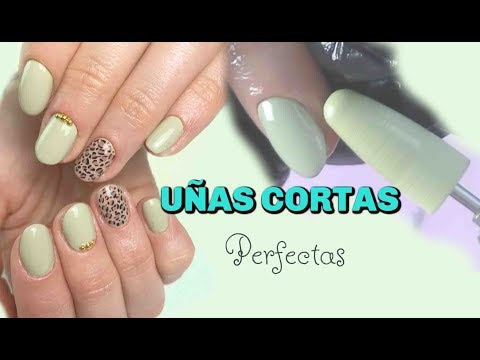 Uñas decoradas - UÑAS CORTAS. Diseño sencillo @coralsanails