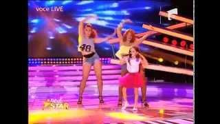 Corina - Autobronzant. Vezi aici cum cântă Nina Manolache la Next Star!