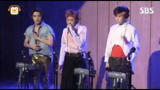 NCT 127 - Mad City Live by Taeyong, Mark and Jaehyun at SBS Cultwo show