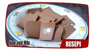 Resepi Agar agar Milo