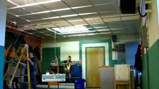 Merry Place suspended ceiling installation