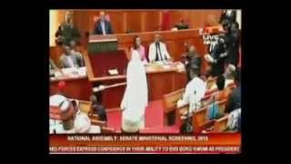 #MinisterialScreening: How Khadija Bukar Abba Ibrahim took 'a bow and go'