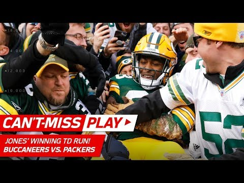 Video: Green Bay's Amazing Walk Off TD in Overtime vs. Tampa Bay! | Can't-Miss Play | NFL Wk 13 Highlights