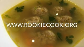 For the full recipe, check out my website: http://www.rookiecook.org/2017/03/25/chicken-dumpling-soup/ Find me on social media:...