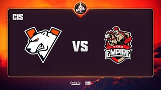 Virtus.pro vs Team Empire, MDL Disneyland® Paris Major CIS QL, bo3, game 2 [Lex & 4ce]