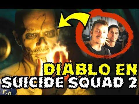 DIABLO EN SUICIDE SQUAD 2?- JAY HERNANDEZ EN FOTO DE JOEL KINNAMAN - WARNER BROS DC FILMS DCEU (видео)