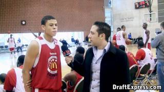 Ray McCallum Interview & Practice Highlights - 2010 McDonald's All American Game